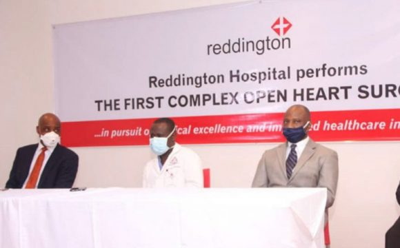 REDDINGTON HOSPITAL PERFORMS FIRST COMPLEX OPEN HEART SURGERY