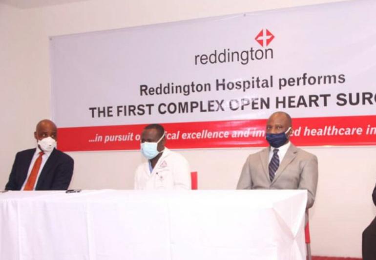 REDDINGTON HOSPITAL PERFORMS FIRST COMPLEX OPEN HEART SURGERY